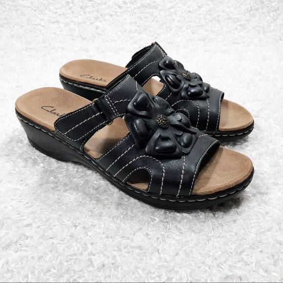 Clarks Shoes   Leather Velcro Sandals